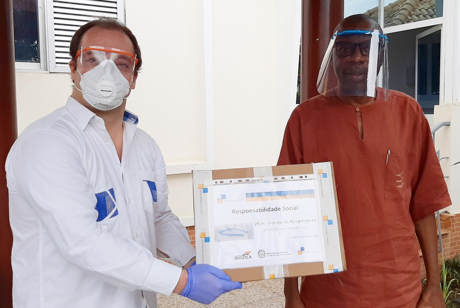 Mota-Engil apoia Governo no combate à pandemia Covid-19 em Angola