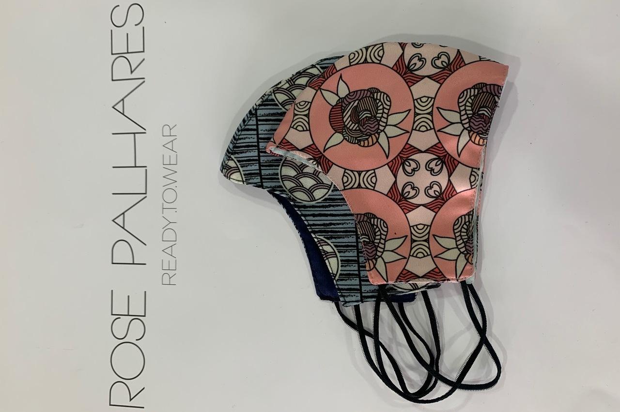 Rose Palhares apresenta colecção de máscaras de protecção