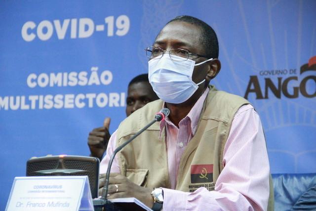 Angola registou mais três casos positivos de Covid-19 nas últimas 24 horas