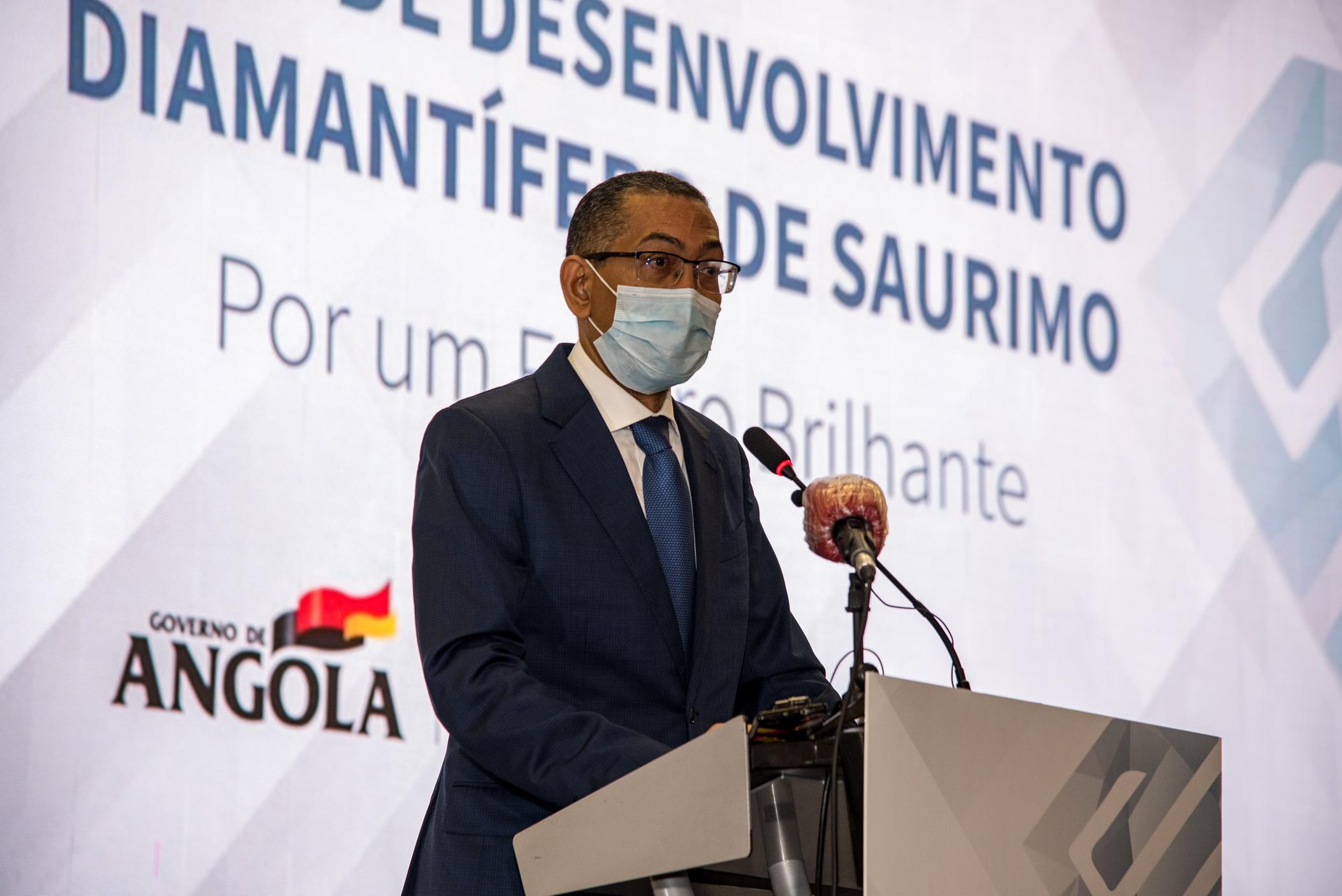 Obras do Pólo de Desenvolvimento Diamantífero de Saurimo com previsão de conclusão para este ano