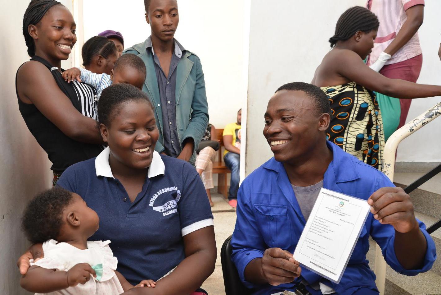 País pretende registar 26 mil crianças por dia