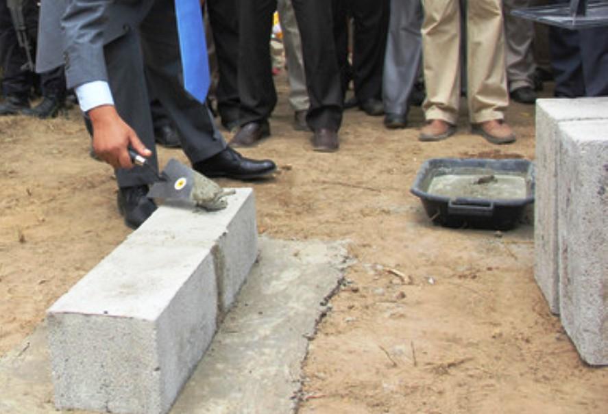Governo inicia construção de primeira infra-estrutura autárquica