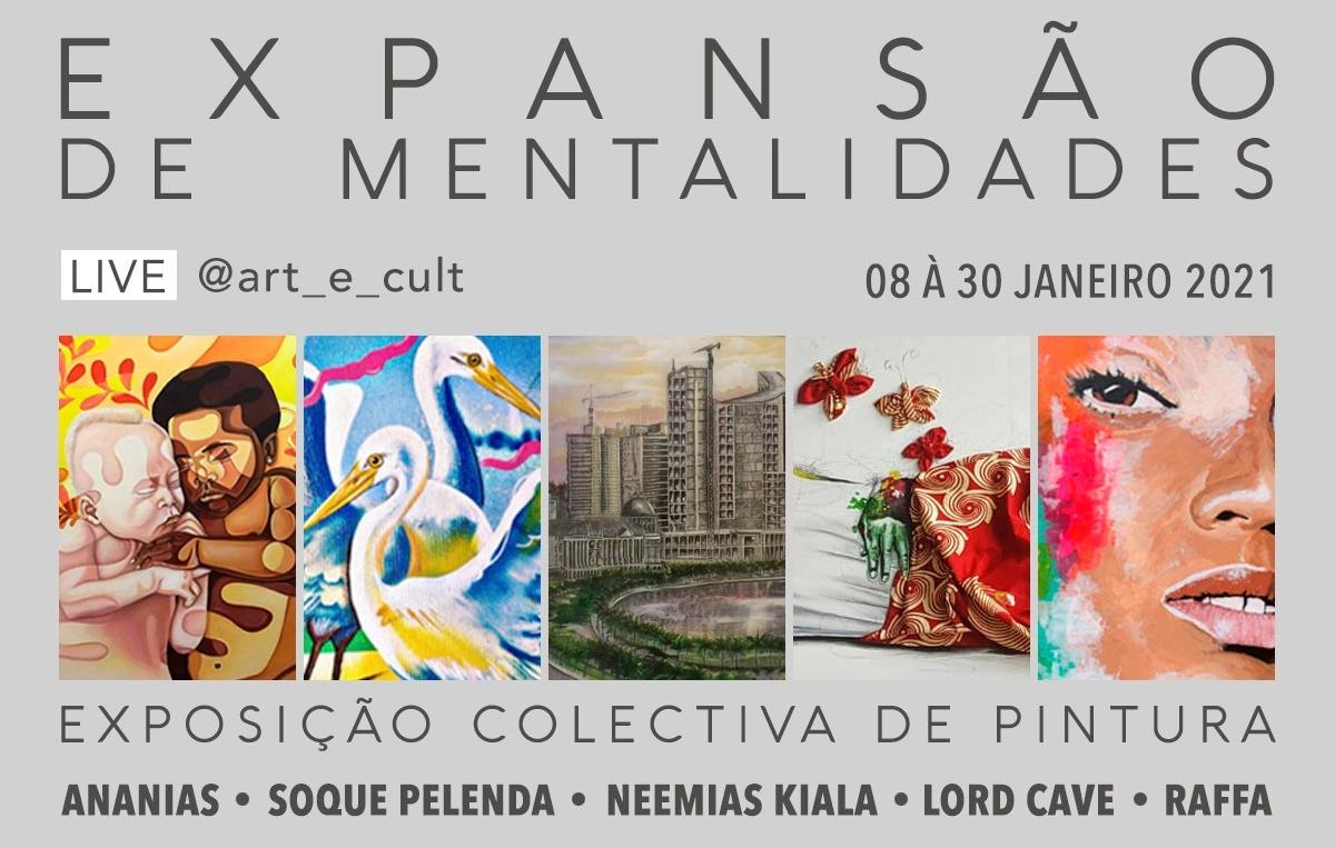 """Artistas apresentam hoje """"Expansão de Mentalidades"""" na Galeria Tamar Golan"""