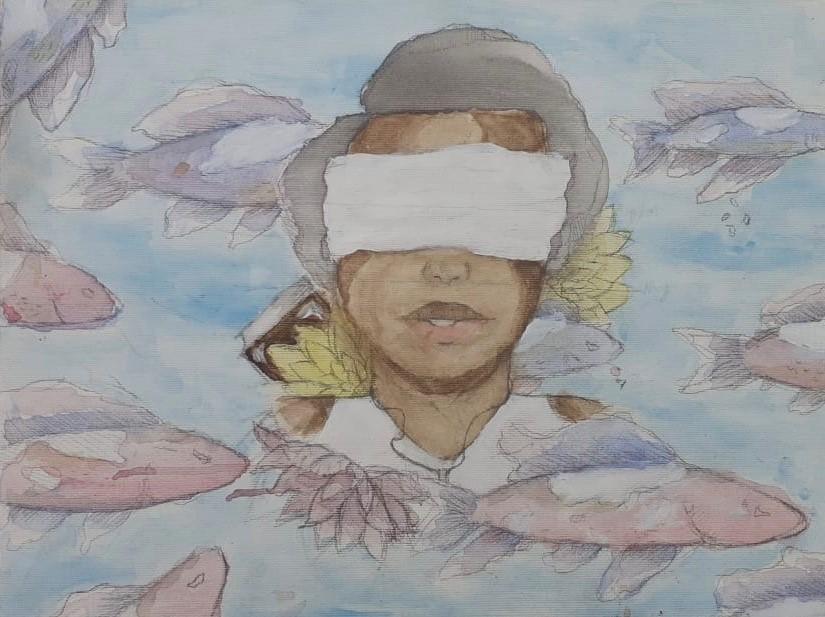 """Artistas apresentam-se """"Do lápis ao pincel"""" na Galeria Tamar Golan"""