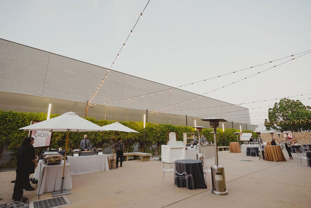 Rose Center courtyard