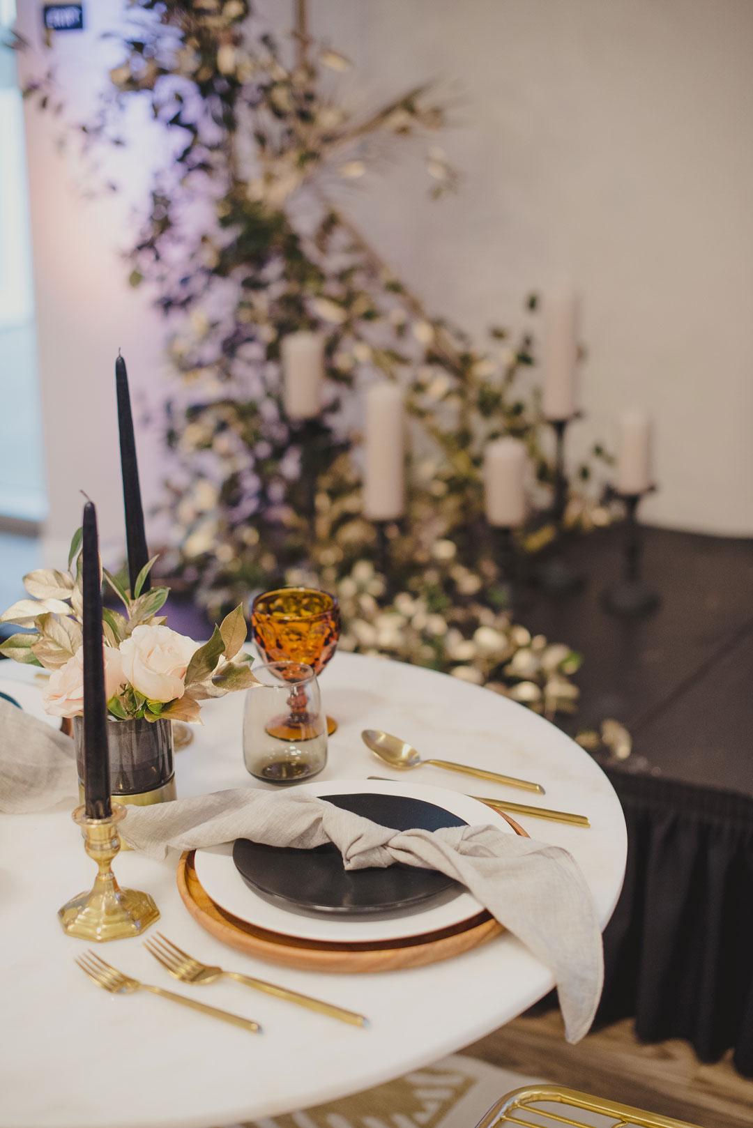 wedding table top rentals