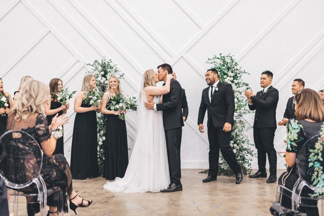 forme los angeles wedding ceremony