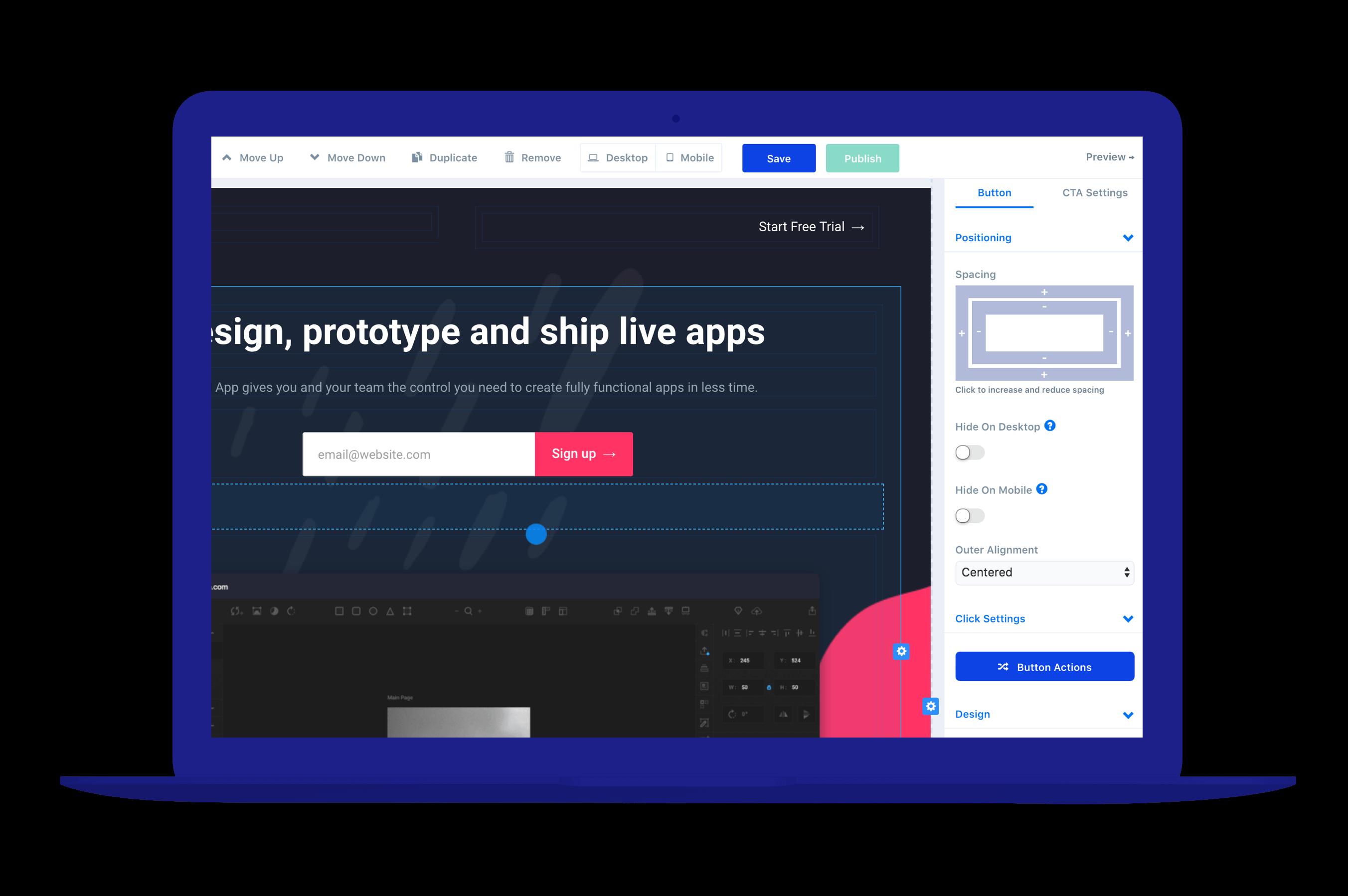 ConvertFlow landing page creator