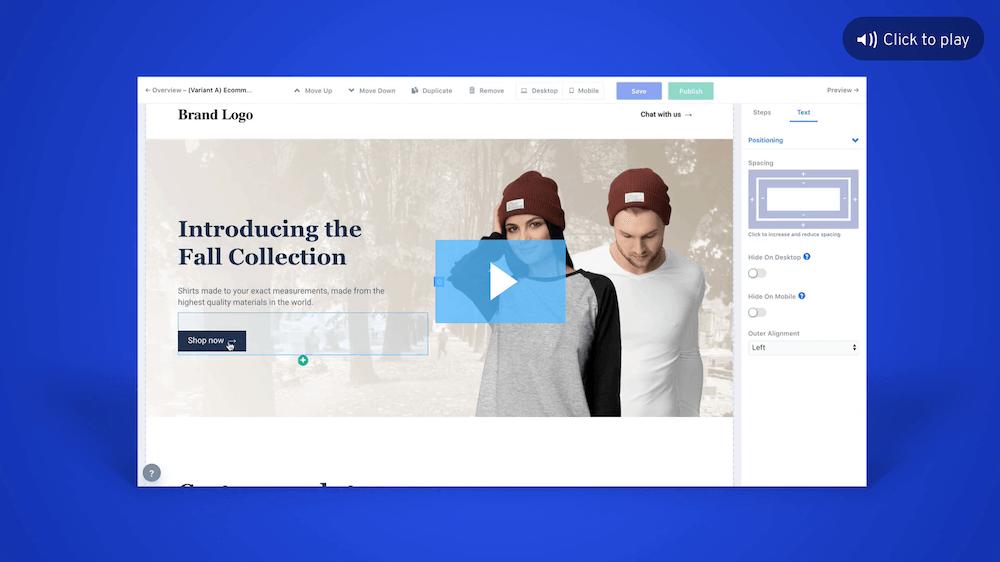 Website conversion platform overview video
