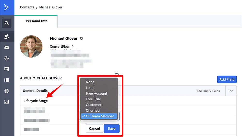 Using custom fields for audience segmentation in ActiveCampaign
