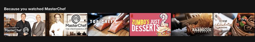 Personalizing websites like Netflix