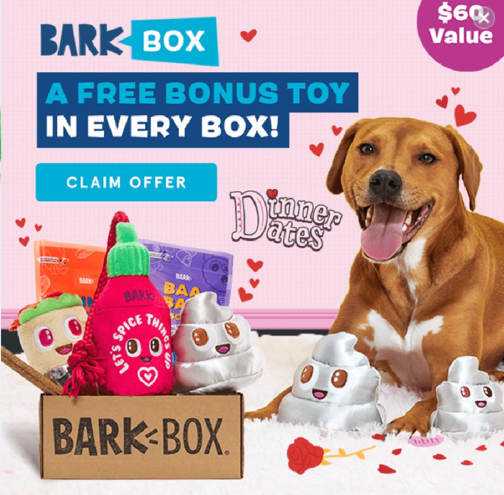 Barkbox popup design example