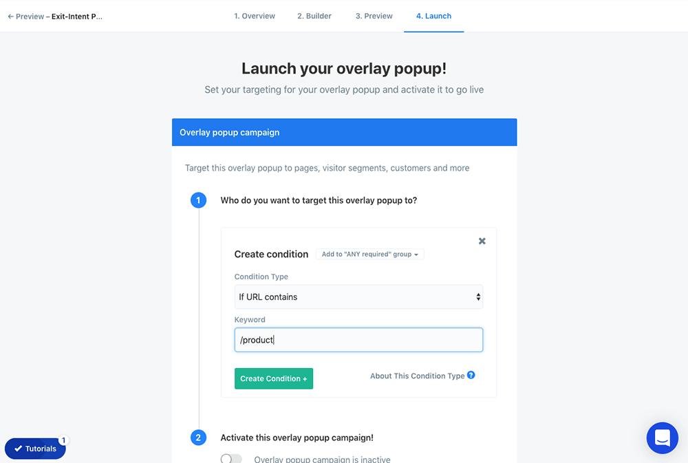 Simple page targeting