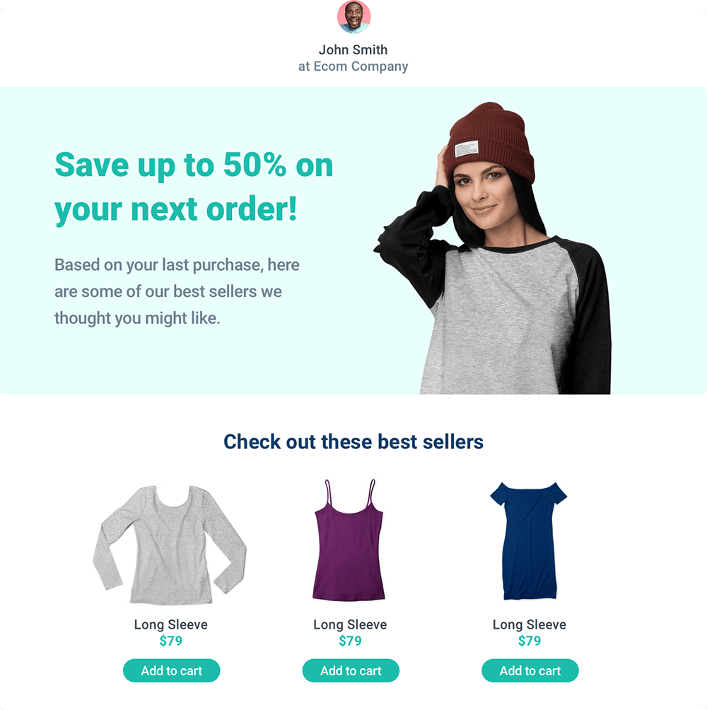 Embed data from Shopify and apps into popups
