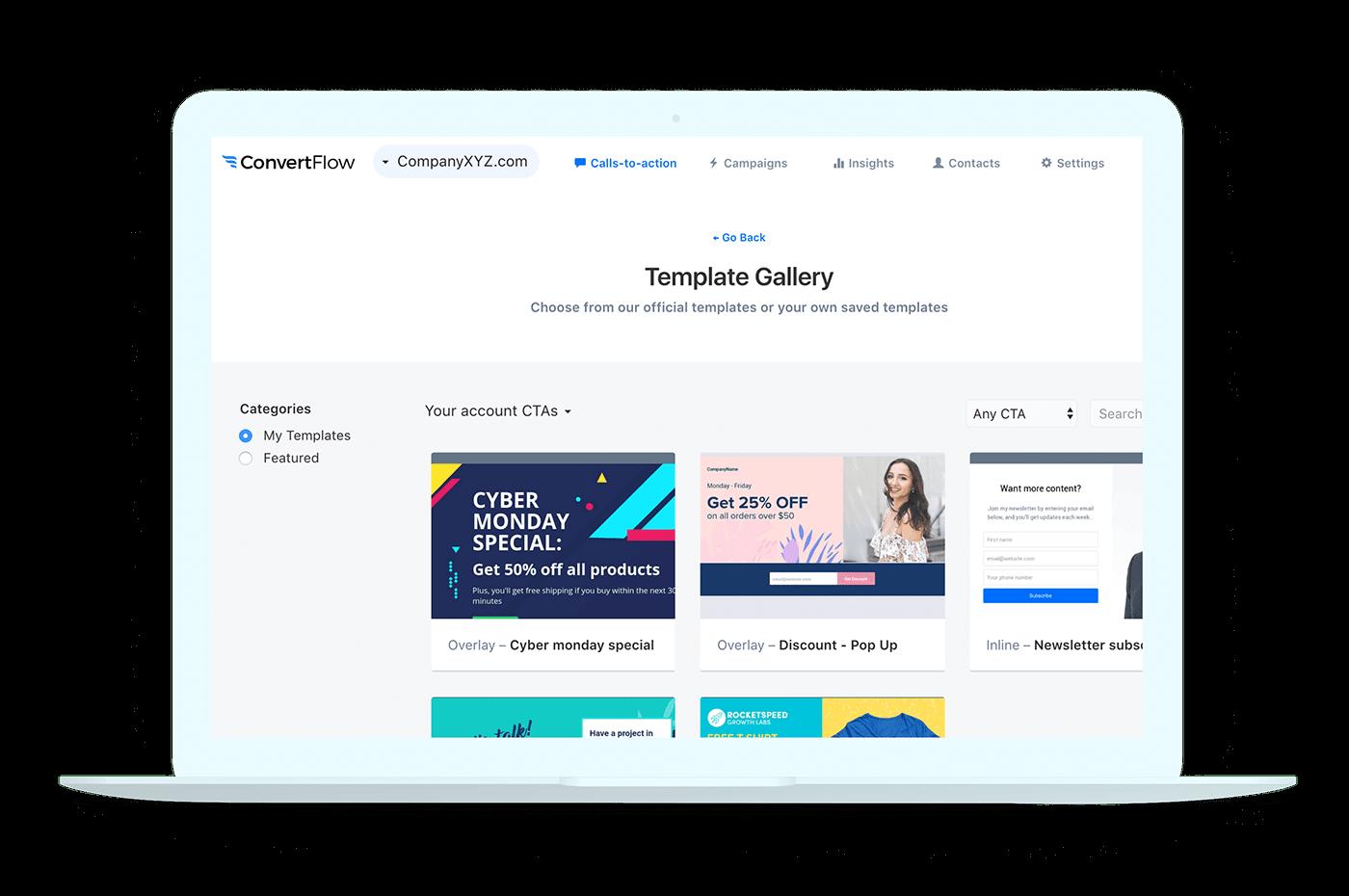 Workflow create reusable templates