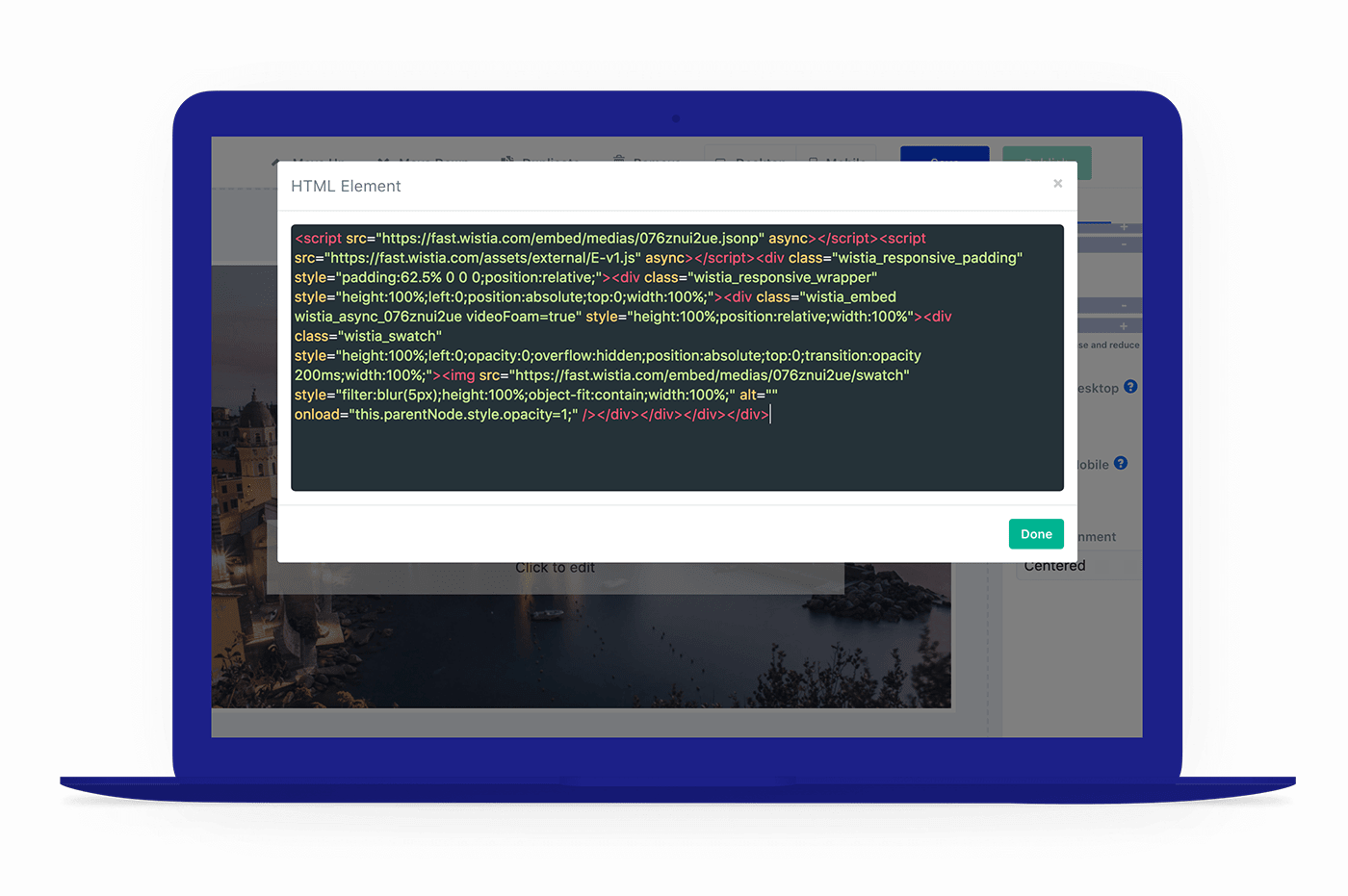 Lead quiz builder custom code