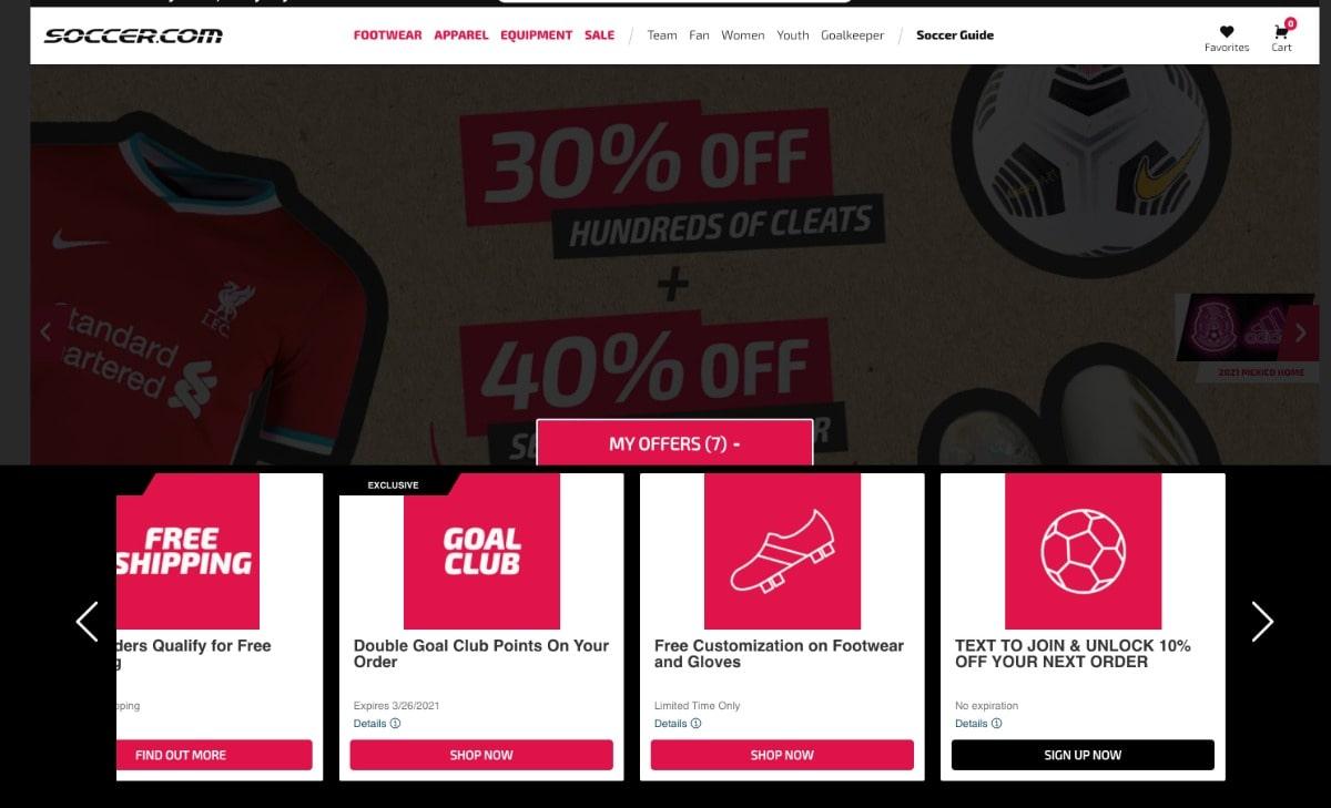 Soccer.com banner