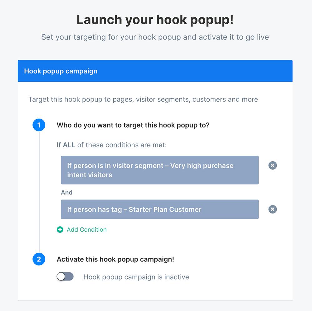 Targeting by price plan example