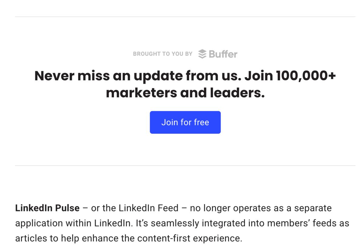 Buffer micro-conversion button example