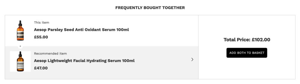Lookfantastic frequently bought together