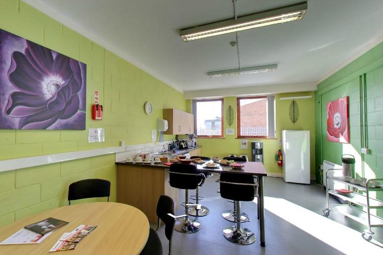Canteen at Menta, Suffolk Enterprise Centre