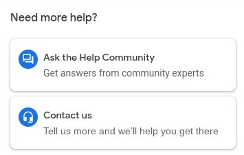 How to contact customer support for Google My Business.