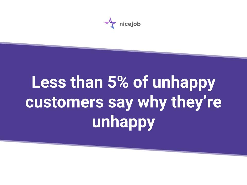WHen responding to a negative review, appreciate the customers who complain because they might help you uncover something about your business.