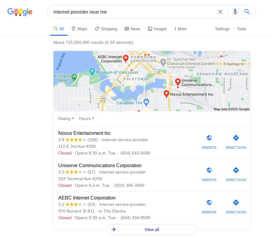 For 2021 marketing trends, optimize Google My Business to appear on the Local 3-Pack.