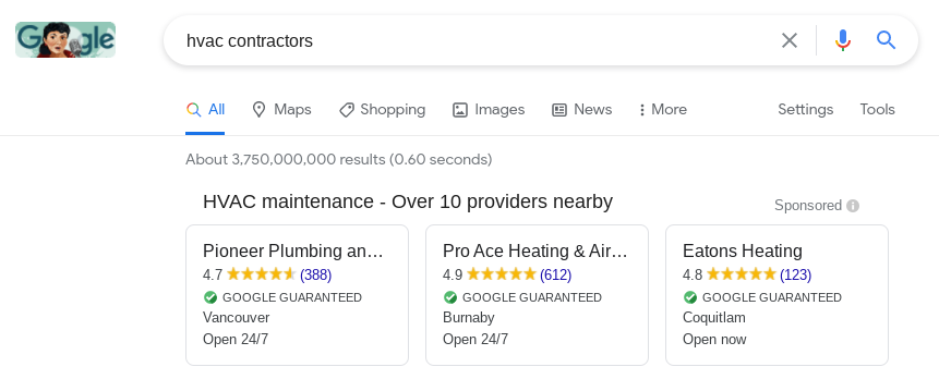 for 2021 marketing trends, start using Google Local Services Ads.