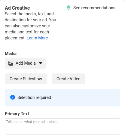 Creative assets for Facebook Messenger ads.