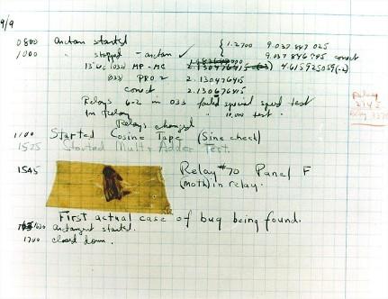 Sample of the COBOL programming language