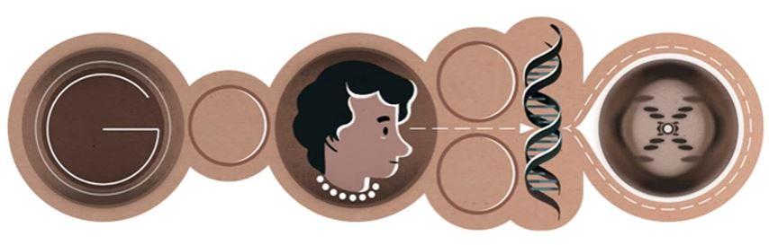 Rosalind Franklin Google Doodle - SmarterU LMS - Learning Management System