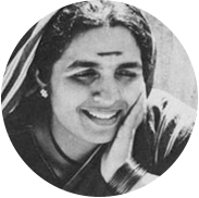 Black and white portrait of Savitribai Phule