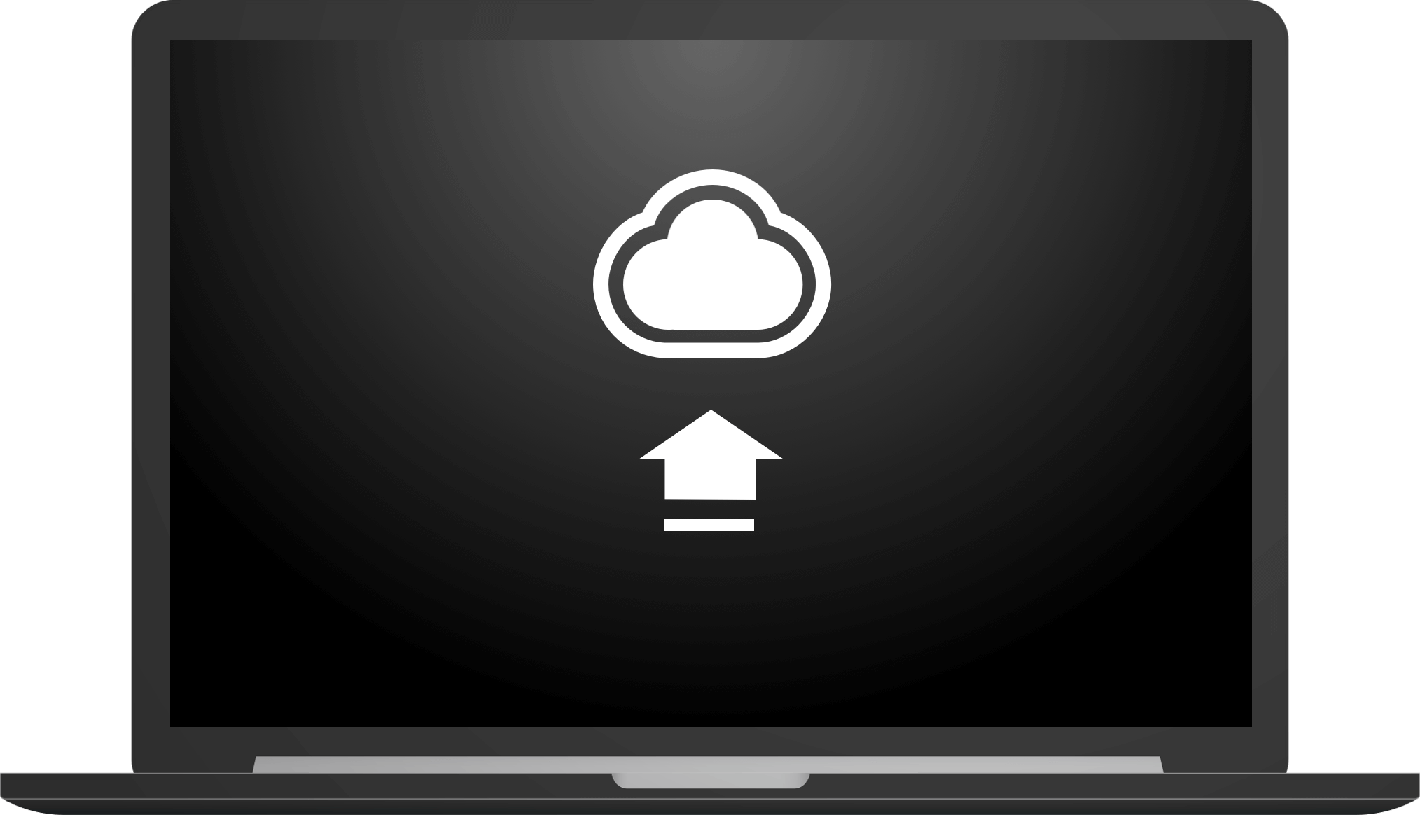 A computer downloading CloudApp