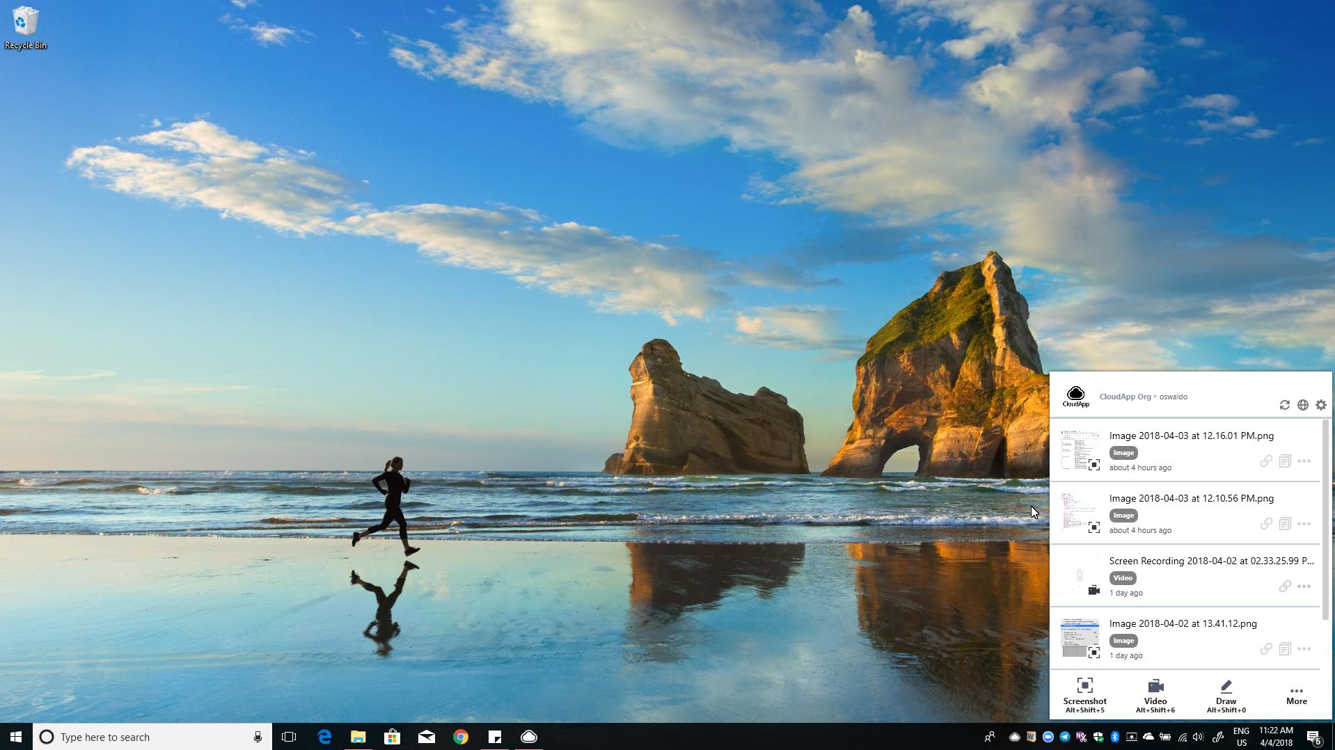 share zip files windows