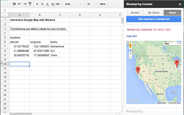 Blockspring Google Sheets Add-Ons