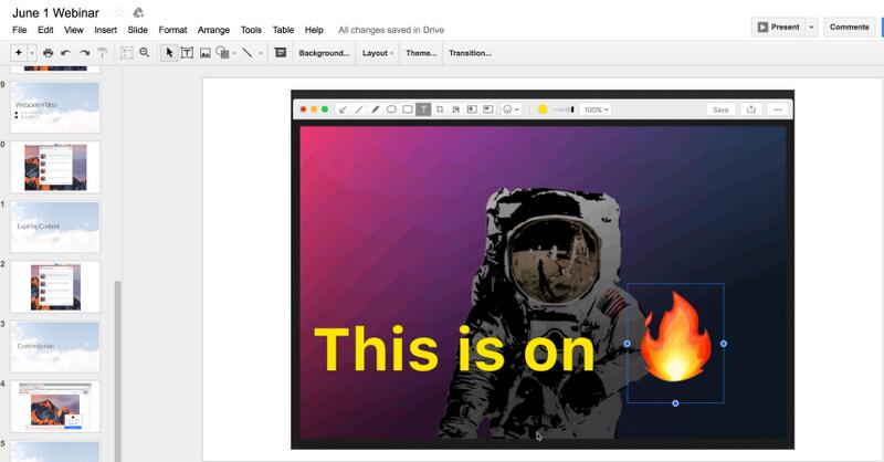 cloudapp google slides add-on