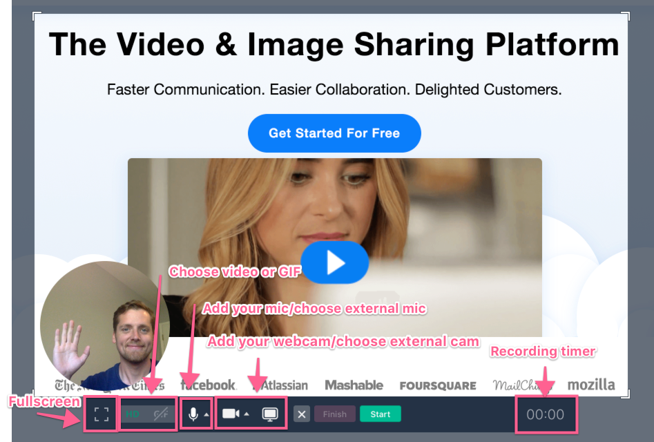 CloudApp video & image sharing platform