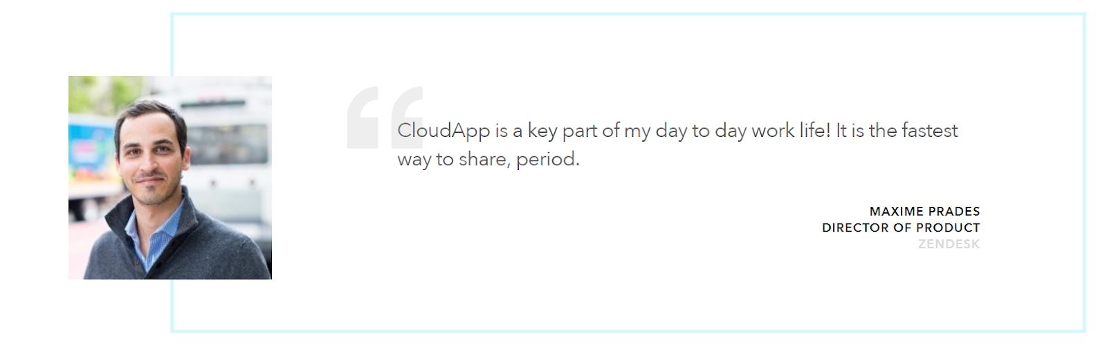 cloudapp video recording software