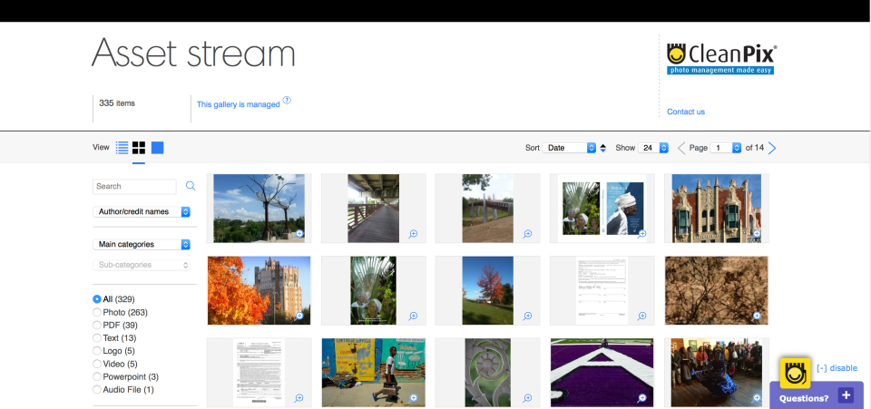 cleanpix digital asset management (DAM)
