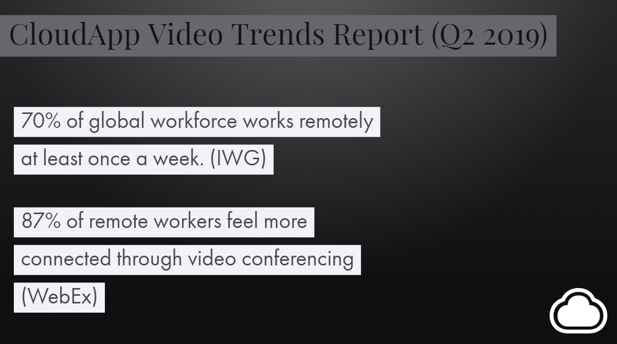 Video Conferencing Helps Connect Remote Workers in 2019
