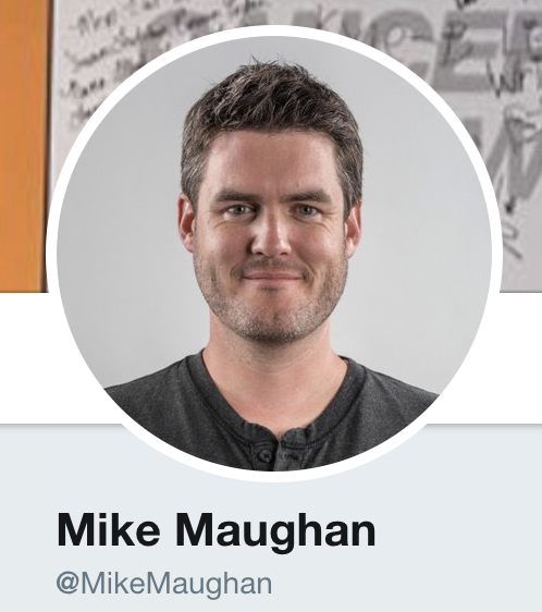 Mike Maughan Twitter