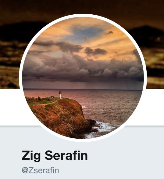 Zig Serafin Twitter