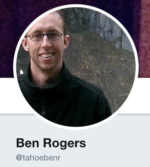 Ben Rogers Twitter