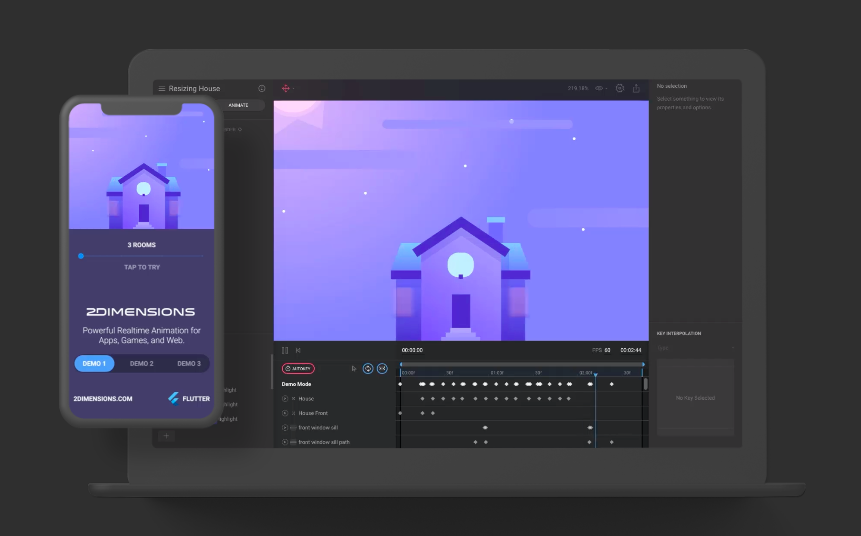 Flare - design animation tool