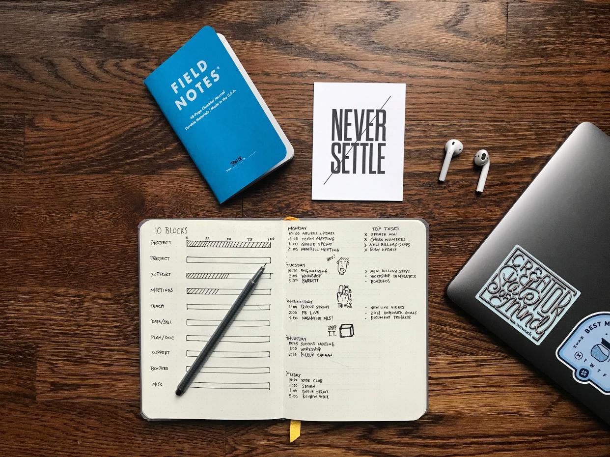 to-do list stay organized