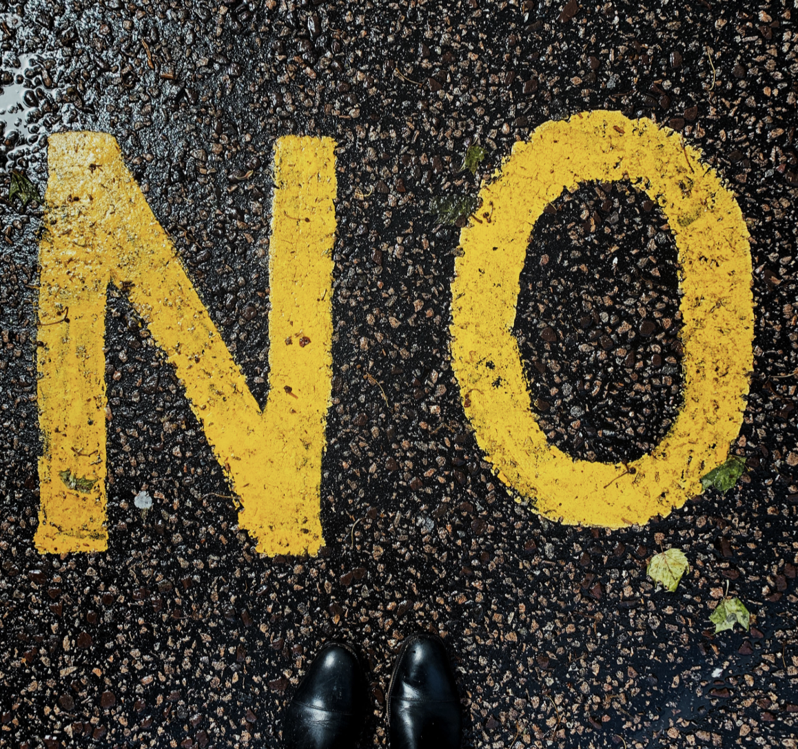 Maintain productivity by not being afraid to say no to projects