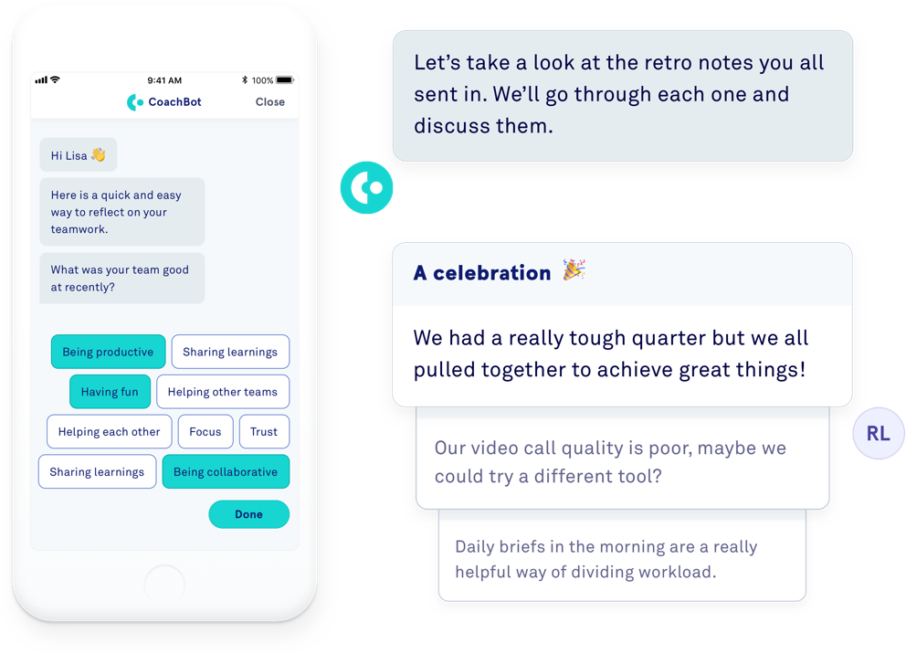 CoachBot Allows Remote Employees to Track Organizational Efforts
