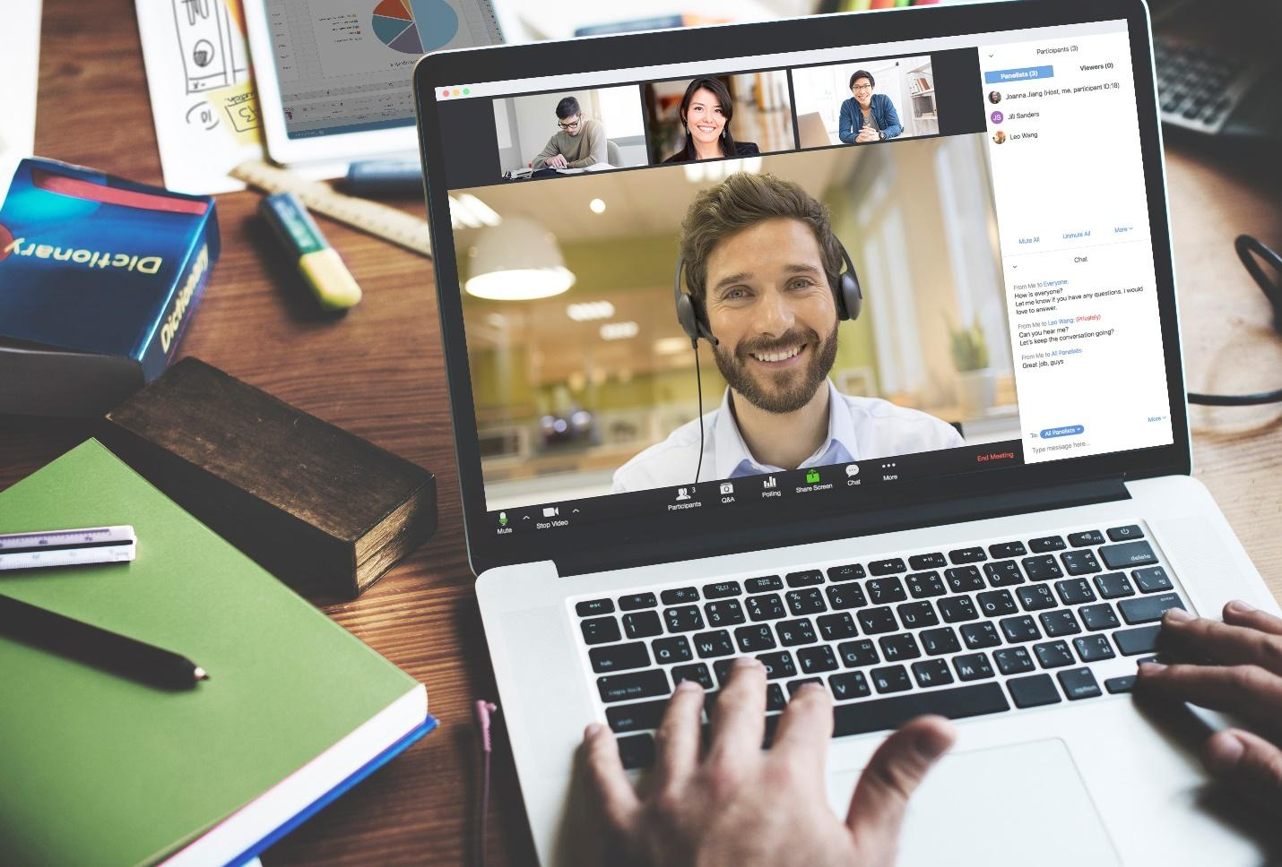 Video Conferencing Allows Remote Workers to Connect