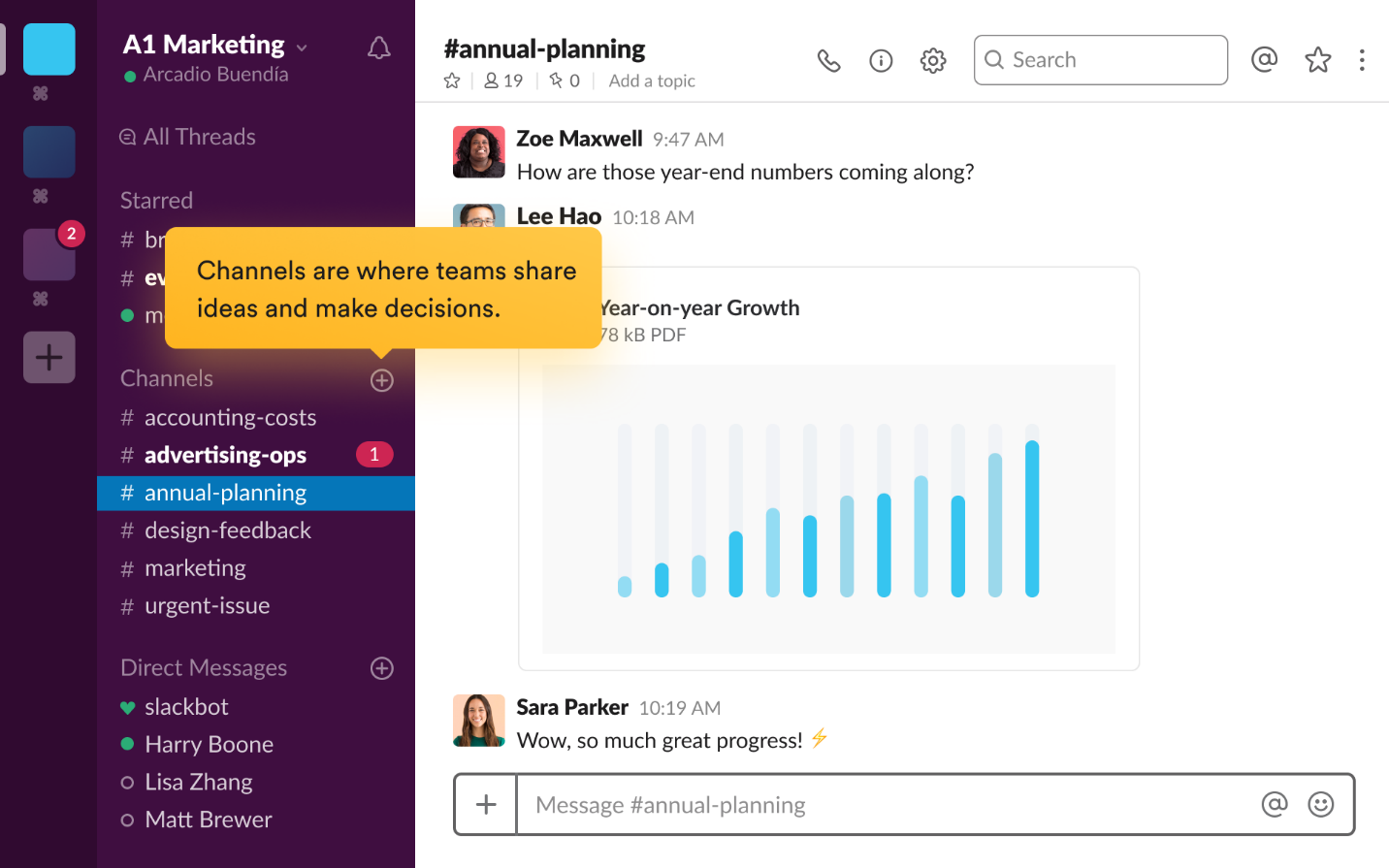 Slack Improves Communication with Remote Workers